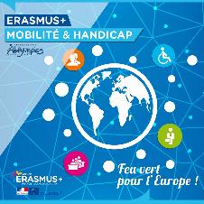 Erasmus + - Mobilité et handicap - Couverture