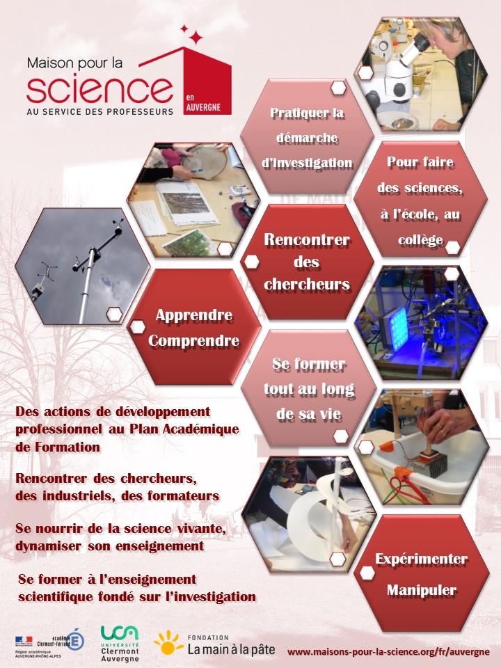 Maison pour la science en Auvergne