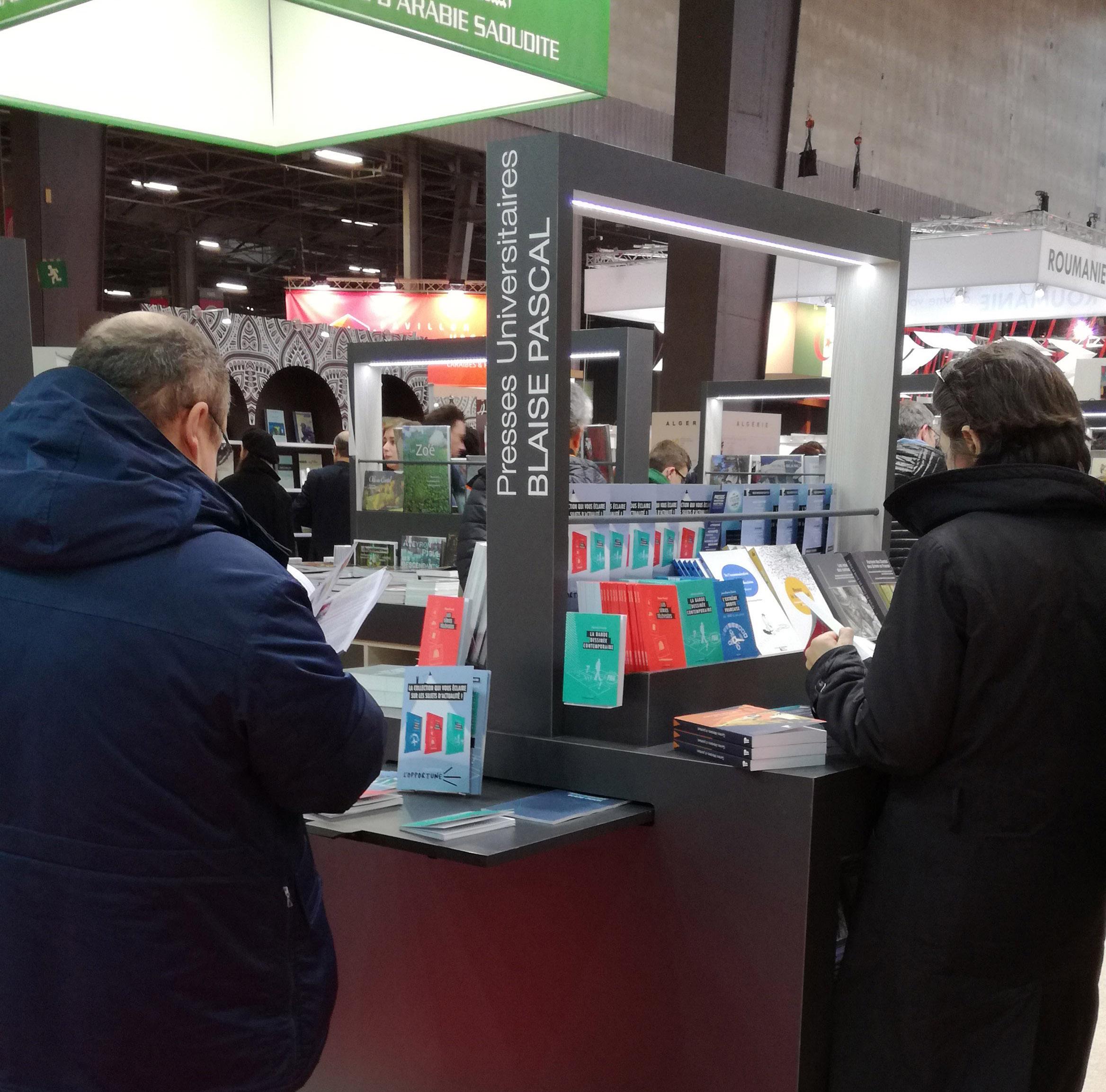Livre Paris 2018 - Stand des PUBP