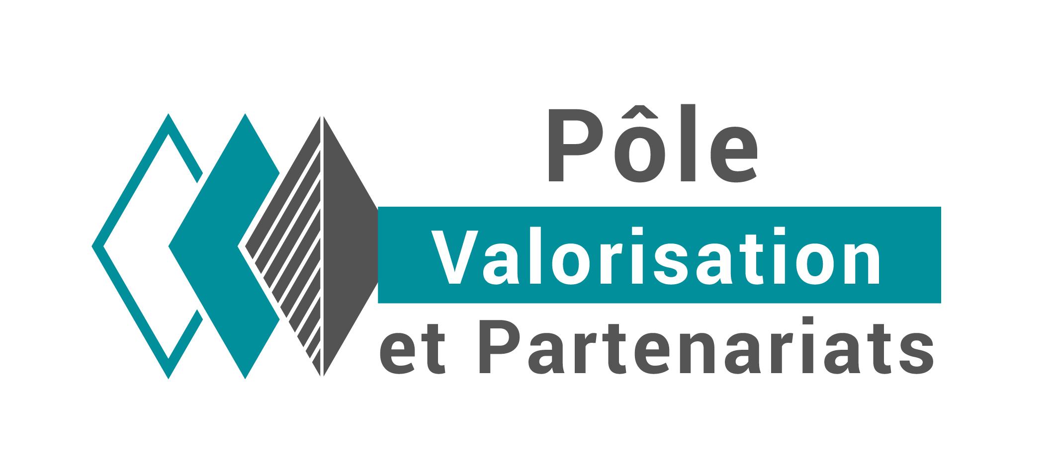 Logo Pôle Valorisation et Partenariats